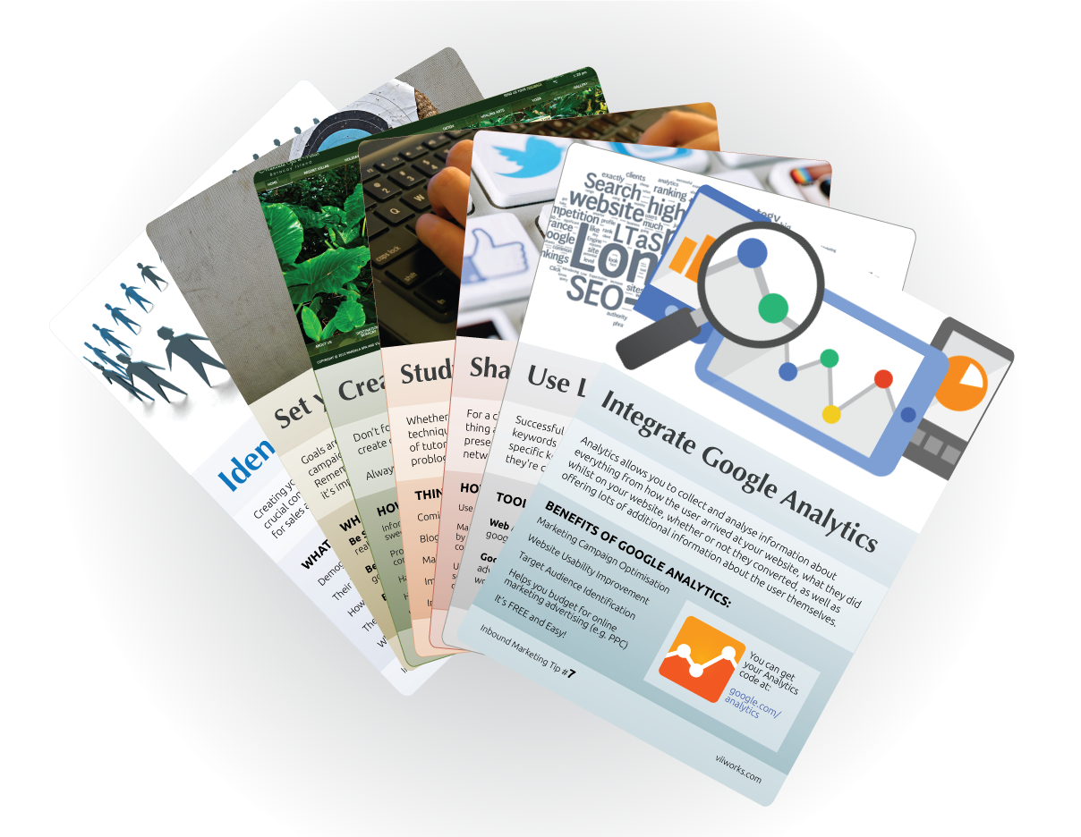Inbound Marketing cards